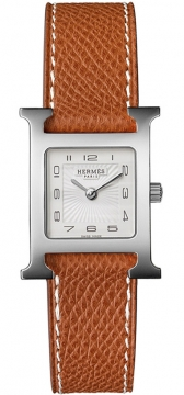 Hermes H Hour Quartz Small PM Ladies watch, model number - 036702WW00, discount price of £1,287.00 from The Watch Source