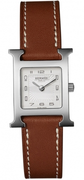 Hermes H Hour Quartz Small PM Ladies watch, model number - 036706WW00, discount price of £1,287.00 from The Watch Source