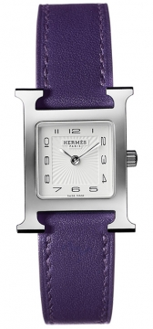 Hermes H Hour Quartz Small PM Ladies watch, model number - 036710WW00, discount price of £1,287.00 from The Watch Source