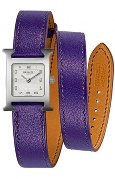 Hermes H Hour Quartz Small PM Ladies watch, model number - 036715WW00, discount price of £1,422.00 from The Watch Source