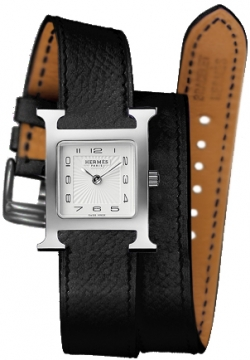 Hermes H Hour Quartz Small PM Ladies watch, model number - 036711WW00, discount price of £1,377.00 from The Watch Source