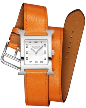 Hermes H Hour Quartz Small PM Ladies watch, model number - 036713WW00, discount price of £1,377.00 from The Watch Source