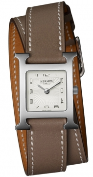 Hermes H Hour Quartz Small PM Ladies watch, model number - 036714WW00, discount price of £1,377.00 from The Watch Source