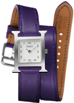 Hermes H Hour Quartz Small PM Ladies watch, model number - 036722WW00, discount price of £1,377.00 from The Watch Source