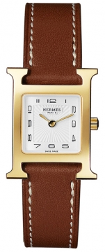 Hermes H Hour Quartz Small PM Ladies watch, model number - 036734WW00, discount price of £1,408.00 from The Watch Source