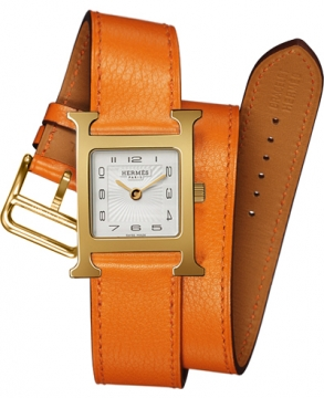 Hermes H Hour Quartz Small PM Ladies watch, model number - 036738WW00, discount price of £1,498.00 from The Watch Source