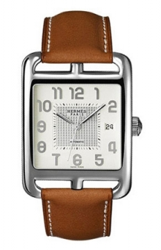Hermes Cape Cod Automatic Large TGM Mens watch, model number - 036740WW00, discount price of £3,132.00 from The Watch Source