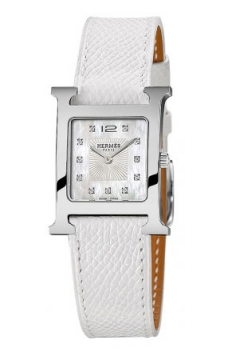 Hermes H Hour Quartz Small PM Ladies watch, model number - 036744WW00, discount price of £2,169.00 from The Watch Source