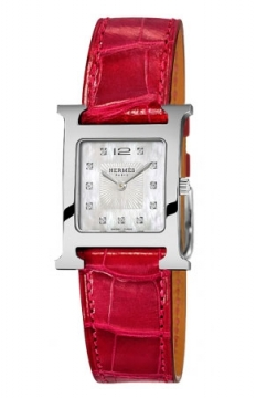Hermes H Hour Quartz Small PM Ladies watch, model number - 036746WW00, discount price of £2,169.00 from The Watch Source