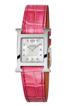 Hermes H Hour Quartz Small PM Ladies watch, model number - 036748WW00, discount price of £2,169.00 from The Watch Source