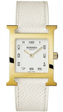 Hermes H Hour Quartz Medium MM Ladies watch, model number - 036781WW00, discount price of £1,350.00 from The Watch Source
