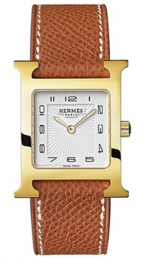 Hermes H Hour Quartz Medium MM Ladies watch, model number - 036783WW00, discount price of £1,485.00 from The Watch Source