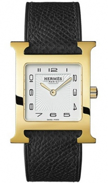 Hermes H Hour Quartz Medium MM Ladies watch, model number - 036784WW00, discount price of £1,485.00 from The Watch Source