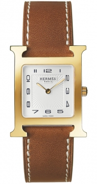 Hermes H Hour Quartz Medium MM Ladies watch, model number - 036785WW00, discount price of £1,498.00 from The Watch Source