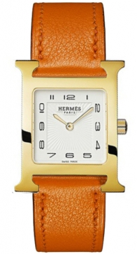 Hermes H Hour Quartz Medium MM Ladies watch, model number - 036786WW00, discount price of £1,485.00 from The Watch Source