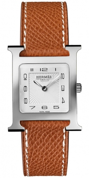 Hermes H Hour Quartz Medium MM Ladies watch, model number - 036791WW00, discount price of £1,377.00 from The Watch Source