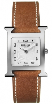 Hermes H Hour Quartz Medium MM Ladies watch, model number - 036793WW00, discount price of £1,377.00 from The Watch Source