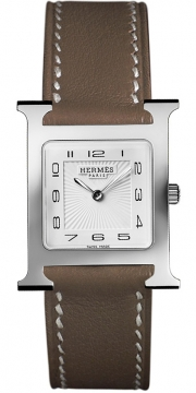 Hermes H Hour Quartz Medium MM Ladies watch, model number - 036796WW00, discount price of £1,377.00 from The Watch Source