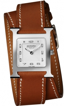Hermes H Hour Quartz Medium MM Ladies watch, model number - 036809WW00, discount price of £1,467.00 from The Watch Source