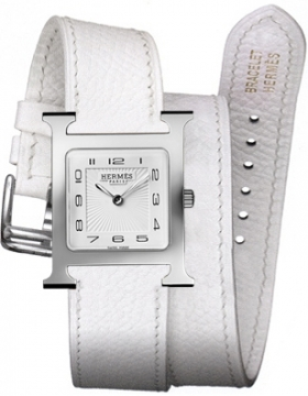 Hermes H Hour Quartz Medium MM Ladies watch, model number - 036808WW00, discount price of £1,467.00 from The Watch Source