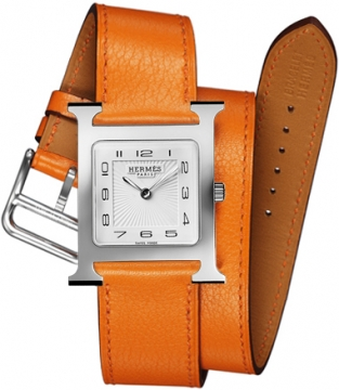 Hermes H Hour Quartz Medium MM Ladies watch, model number - 036805WW00, discount price of £1,467.00 from The Watch Source