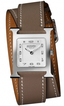 Hermes H Hour Quartz Medium MM Ladies watch, model number - 036804WW00, discount price of £1,467.00 from The Watch Source