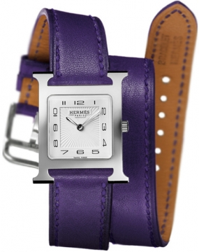 Hermes H Hour Quartz Medium MM Ladies watch, model number - 036803WW00, discount price of £1,467.00 from The Watch Source