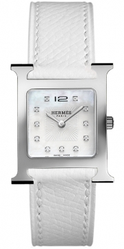 Hermes H Hour Quartz Medium MM Ladies watch, model number - 036810WW00, discount price of £2,097.00 from The Watch Source