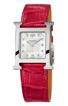 Hermes H Hour Quartz Medium MM Ladies watch, model number - 036811WW00, discount price of £2,286.00 from The Watch Source