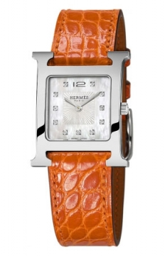 Hermes H Hour Quartz Medium MM Ladies watch, model number - 036812WW00, discount price of £2,286.00 from The Watch Source