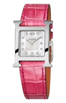 Hermes H Hour Quartz Medium MM Ladies watch, model number - 036813WW00, discount price of £2,286.00 from The Watch Source