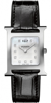 Hermes H Hour Quartz Medium MM Ladies watch, model number - 036814WW00, discount price of £2,250.00 from The Watch Source