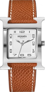 Hermes H Hour Quartz Large TGM Midsize watch, model number - 036831WW00, discount price of £1,498.00 from The Watch Source