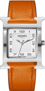 Hermes H Hour Quartz Large TGM Midsize watch, model number - 036834WW00, discount price of £1,498.00 from The Watch Source