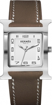 Hermes H Hour Quartz Large TGM Midsize watch, model number - 036835WW00, discount price of £1,498.00 from The Watch Source