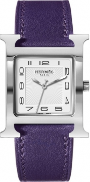 Hermes H Hour Quartz Large TGM Midsize watch, model number - 036836WW00, discount price of £1,498.00 from The Watch Source