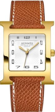 Hermes H Hour Quartz Large TGM Midsize watch, model number - 036842WW00, discount price of £1,620.00 from The Watch Source