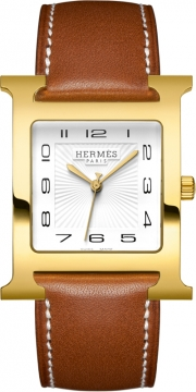 Hermes H Hour Quartz Large TGM Midsize watch, model number - 036844WW00, discount price of £1,620.00 from The Watch Source