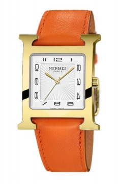 Hermes H Hour Quartz Large TGM Midsize watch, model number - 036845WW00, discount price of £1,500.00 from The Watch Source