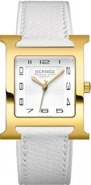 Hermes H Hour Quartz Large TGM Midsize watch, model number - 036846WW00, discount price of £1,620.00 from The Watch Source