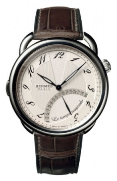 Hermes Arceau Le Temps Suspendu 43mm Mens watch, model number - 036873WW00, discount price of £12,042.00 from The Watch Source