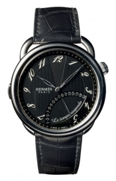 Hermes Arceau Le Temps Suspendu 43mm Mens watch, model number - 036874WW00, discount price of £12,042.00 from The Watch Source