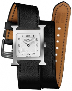 Hermes H Hour Quartz Medium MM Ladies watch, model number - 037011WW00, discount price of £1,467.00 from The Watch Source