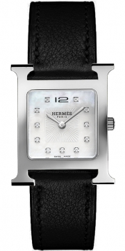 Hermes H Hour Quartz Medium MM Ladies watch, model number - 037164WW00, discount price of £2,097.00 from The Watch Source