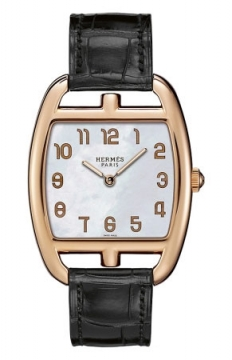 Hermes Cape Cod Tonneau Quartz Medium GM Ladies watch, model number - 037654WW00, discount price of £10,980.00 from The Watch Source