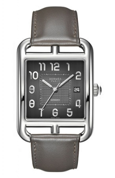 Hermes Cape Cod Automatic Large TGM Mens watch, model number - 037782WW00, discount price of £3,132.00 from The Watch Source