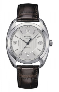 Hermes Dressage Automatic Quantieme GM Mens watch, model number - 037801WW00, discount price of £4,255.00 from The Watch Source