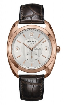 Hermes Dressage Automatic Petite Second GM Mens watch, model number - 037808WW00, discount price of £18,342.00 from The Watch Source