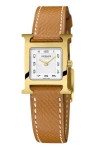 Hermes H Hour Quartz Petite TPM 037893WW00 watch