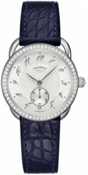 Hermes Arceau Ecuyere Automatic MM 34mm Ladies watch, model number - 037930WW00, discount price of £8,700.00 from The Watch Source